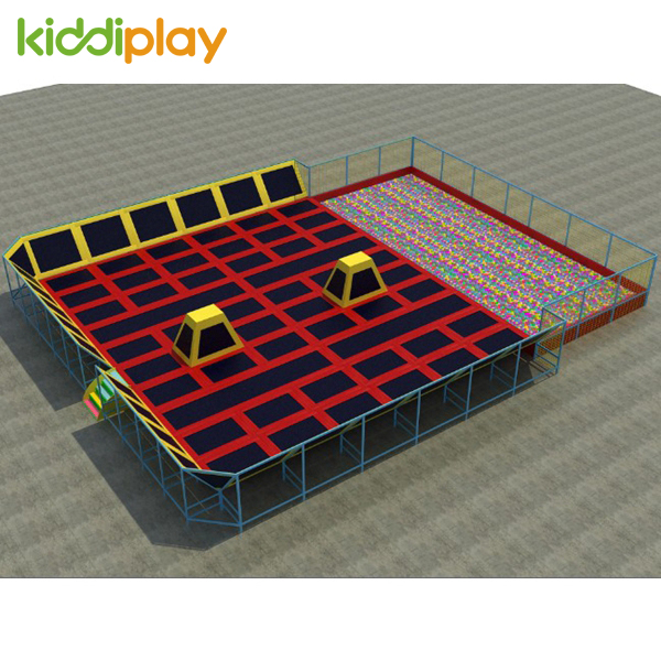 European Standard Good Quality Indoor Bungee Trampoline Game Park