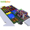 Large Parkour Trampoline with Indoor Playground