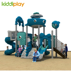 Small Outdoor Playground Dream Ocean Series Slide Equipment
