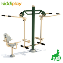 New Style Outdoor Disabled Fitness Equipment for Turning Wheel