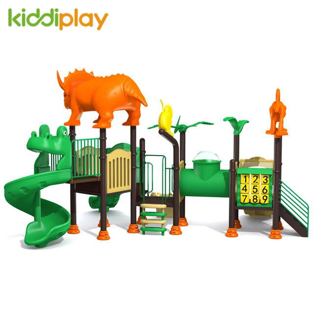 Used Commercial Playground Outdoor Dinosaur Series School Equipment for Children