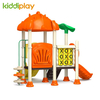 Plastic Material Colorful Outdoor Playground With Small Series Slide