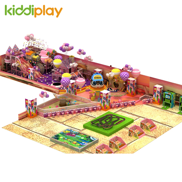 Kids Play Candy Style Safe Equipment Soft Indoor Playground