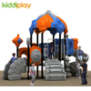 Outdoor Playground Equipment Plastic Slides, Custom Children Comfortable Material Playground