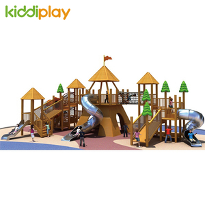 High Quality Wooden Series Outdoor Playground for Sale