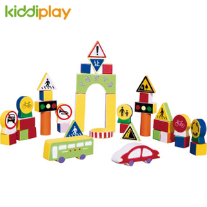 Happy Indoor Childhood Jumbo Foam Toddler Playground Building Blocks