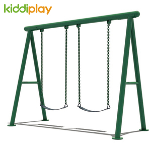 Kiddi Metal Rope Seats Outdoor Iron Swing