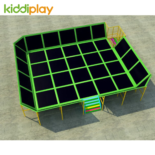 Outdoor And Indoor Exercise Trampoline Park Game Playground