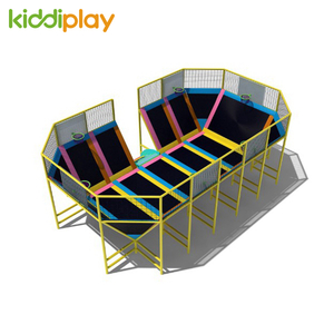 Good Quality Indoor Entertaining Trampoline Park For Sale
