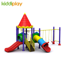 Children Castle Series Swing And Slide Outdoor Playground for Sale