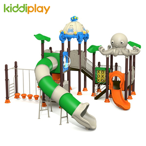 Outdoor Slide Commercial Playground Equipment