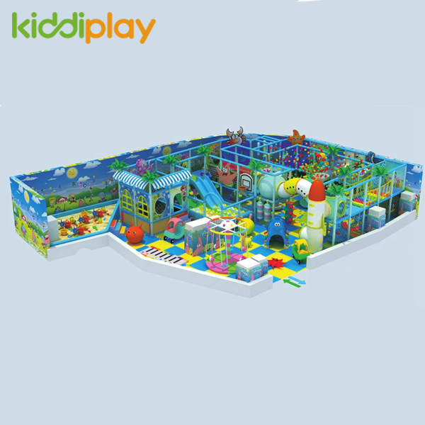 Daycare Center Plastic Material Indoor Playground for Children