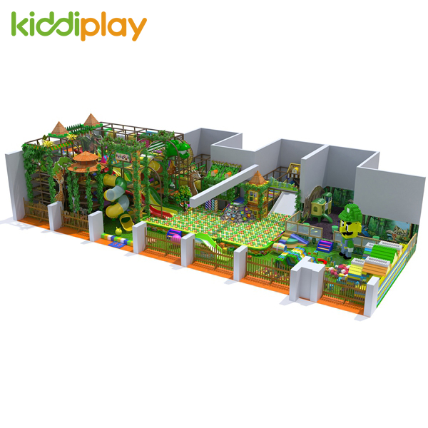 Indoor Kids Forest Playground Equipment for School