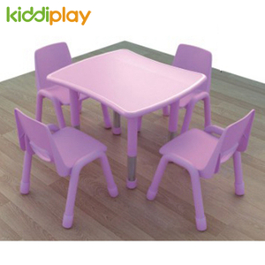 Preschool Kids Furniture U-shape Children Table Chair