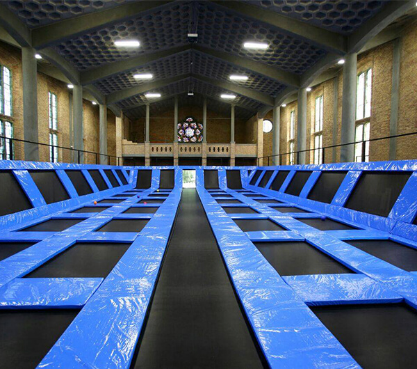 Indoor Trampoline Park Installed in Netherlands