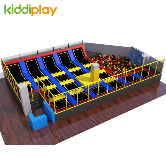 Kids Popular Trampoline for Sale Candy Playground Large Indoor Park for Sale