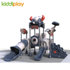 Outdoor Playground CE Certificated Kids Slide Entertainment Equipment