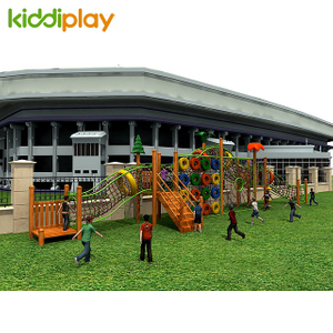 Garden Cheap Wooden Series Effective Outdoor Climbing Playground