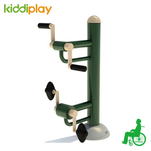 Commercial outdoor gym fitness equipment for disabled people