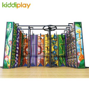 Large Customized Design Indoor Climbing Wall Playground for children