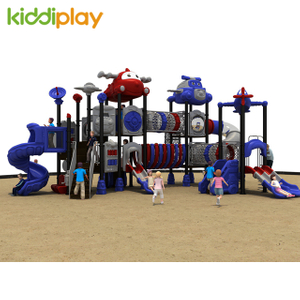 2018 Hot Eco-friendly Kids Airport Series Outdoor Playground Equipment for Sale