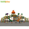 Kids Wooden Series Equipment Multi-functional Plastic Outdoor Playground