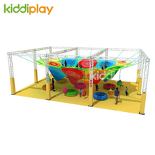 2018 Popular Rainbow Climbing Colorful Nets Ropes for Children's Park