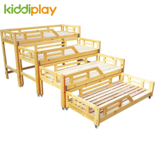 New Arrival Wooden Children Bed for Preschool & Home