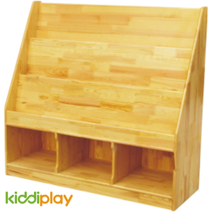 Kids Indoor Wooden Bookshelf