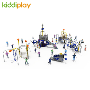 Tube Slide Equipment Children Playground Climbing