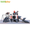 Kiddi play big slides children outdoor playground for sale
