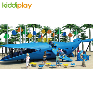 2018 New Design Children Wooden Theme Series Outdoor Playground for KiddiPlay