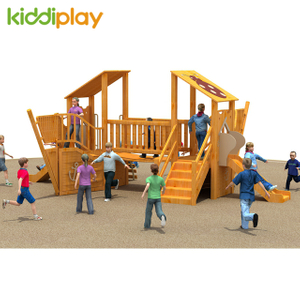 Small Wooden Outdoor Playgrounds for Sale