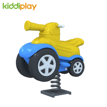 Outdoor Funny Plastic Spring Rider, Playground Equipment Cheap Spring Rider