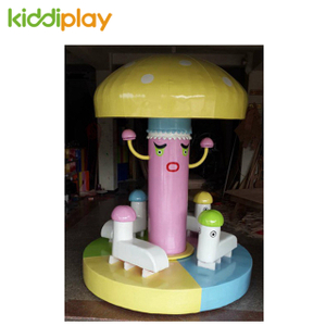 China Soft Indoor Playground Accessories Magic Mushroom Tree