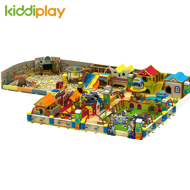 Indoor Wooden Playground Equipment for Kids
