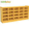 Kindergarten Wooden Furniture Children Shoe Storage Cabinets