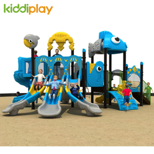 Popular Multi Function Children Outdoor Playground Ocean Series Amusement Park