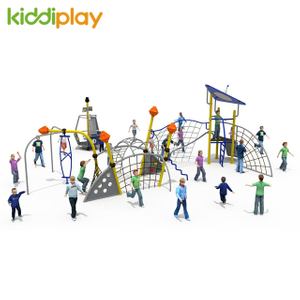 Outdoor Park Kids Rope Playground Climbing Set