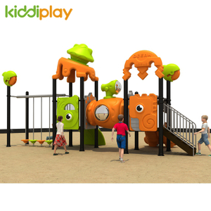 Small Amusement Outdoor Playground Plastic Slide