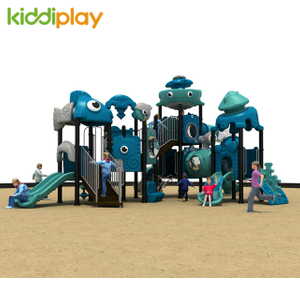 Large Recreation Outdoor Playground Dream Ocean Series Slide Equipment