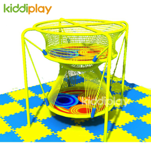 Commercial Children Indoor Playground Colorful Rainbow Climbing Net Equipment