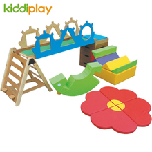 High Quality Kids Indoor Balance Training Sensory Equipment with Soft Play Ground