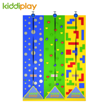 Multi-Functional Climbing Wall Indoor Playground for Shopping Mall