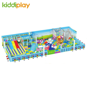 New Design Custom Theme Park Children Indoor Plastic Playground