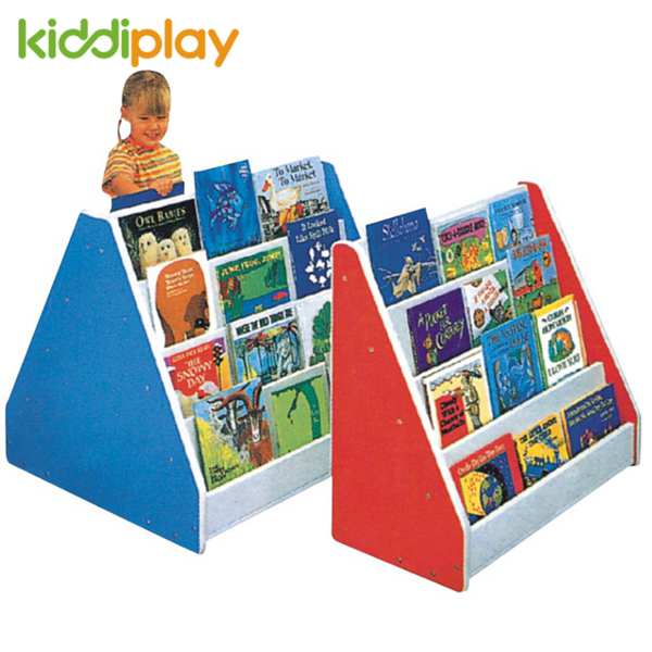 Kindergarten Furniture Kids Toy Storage Cabinet With Bookshelf