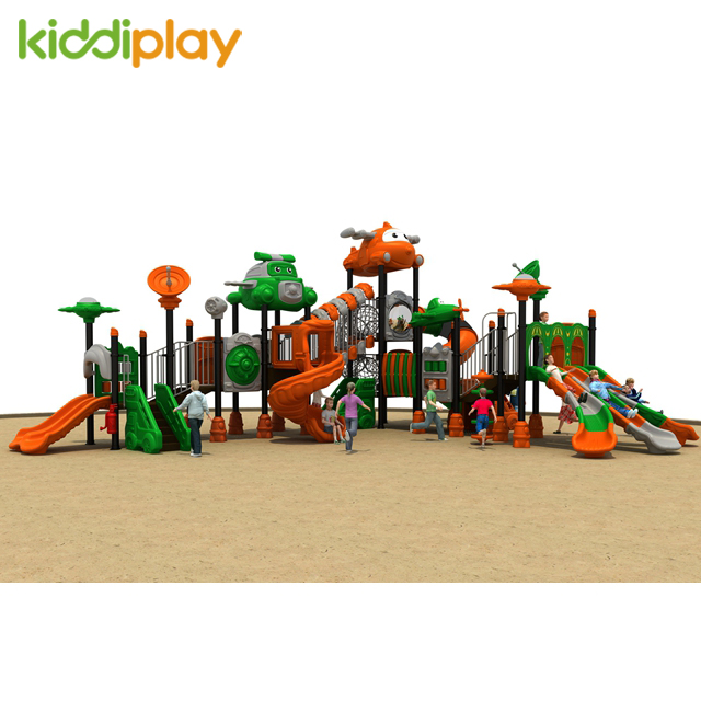 Latest Product Plastic Children High Quality Airport Series Outdoor Playground Equipment