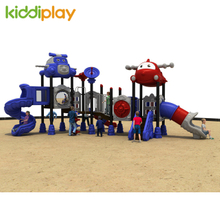Kids Airport Series Outdoor Playground Multi Functional Combination Amusement Equipment