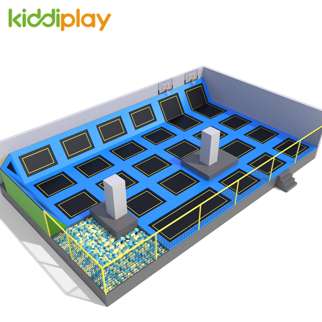 indoor playground trampoline park structures playground equipment