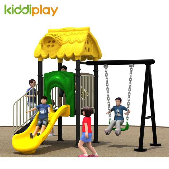Small Outdoor Playground With Slide Game